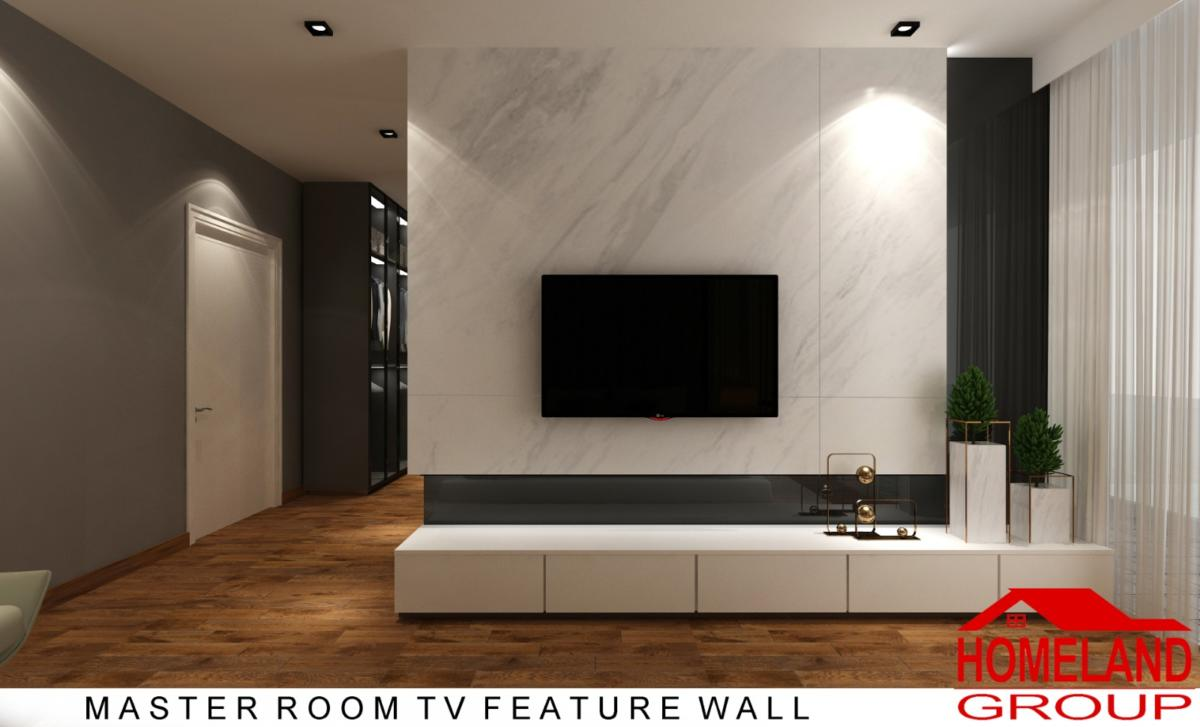TV feature wall design