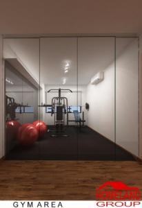 Gym room design